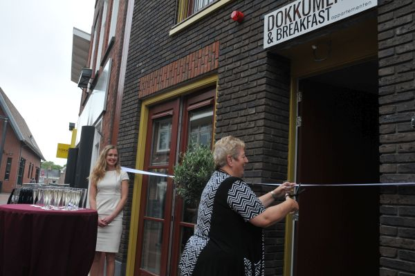 Opening Bed & Breakfast appartementen Dokkum